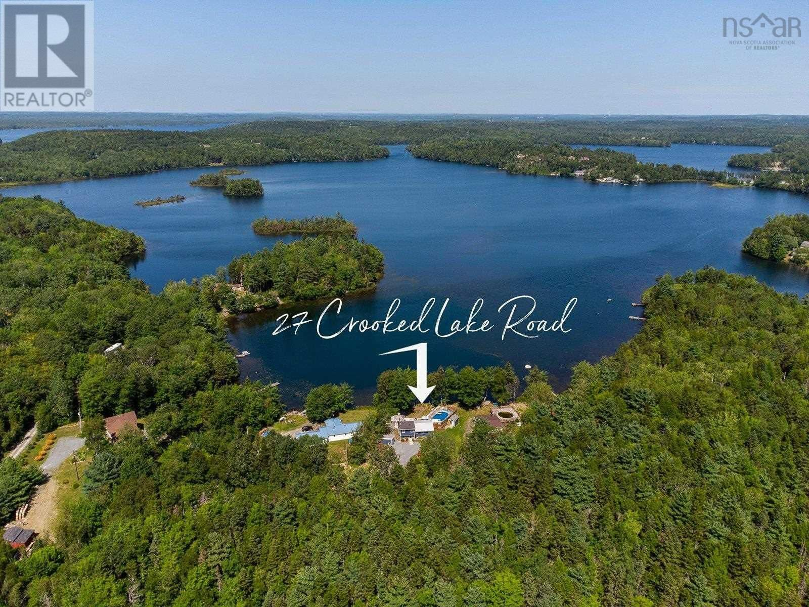 Main Photo: 27 CROOKED LAKE Road in Camperdown: House for sale : MLS®# 202124053