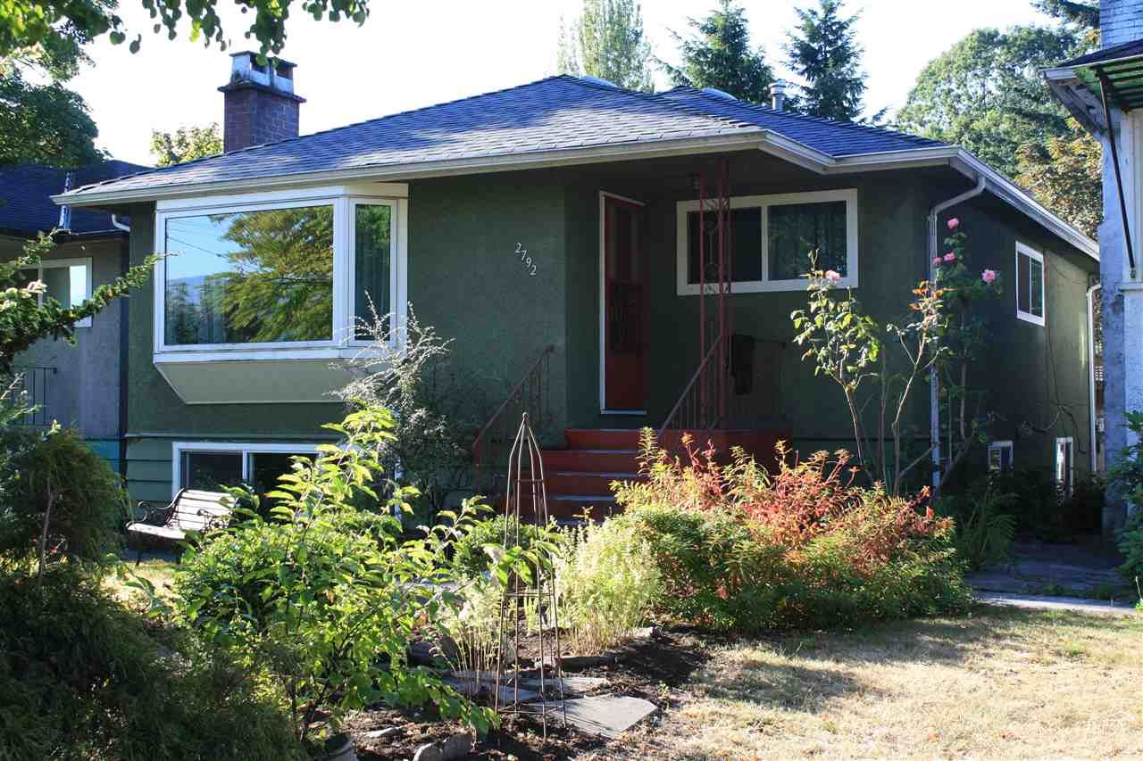 Main Photo: 2792 MCGILL Street in Vancouver: Hastings East House for sale (Vancouver East)  : MLS®# R2198736