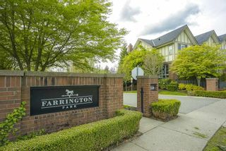 """Photo 1: 48 1338 HAMES Crescent in Coquitlam: Burke Mountain Townhouse for sale in """"FARRINGTON PARK"""" : MLS®# R2453461"""
