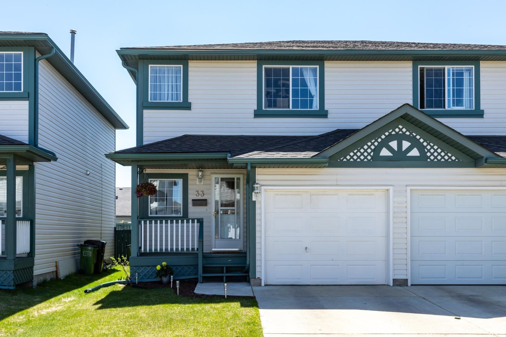 Main Photo: 33 15215 126 Street in Edmonton: Zone 27 House Half Duplex for sale : MLS®# E4246788