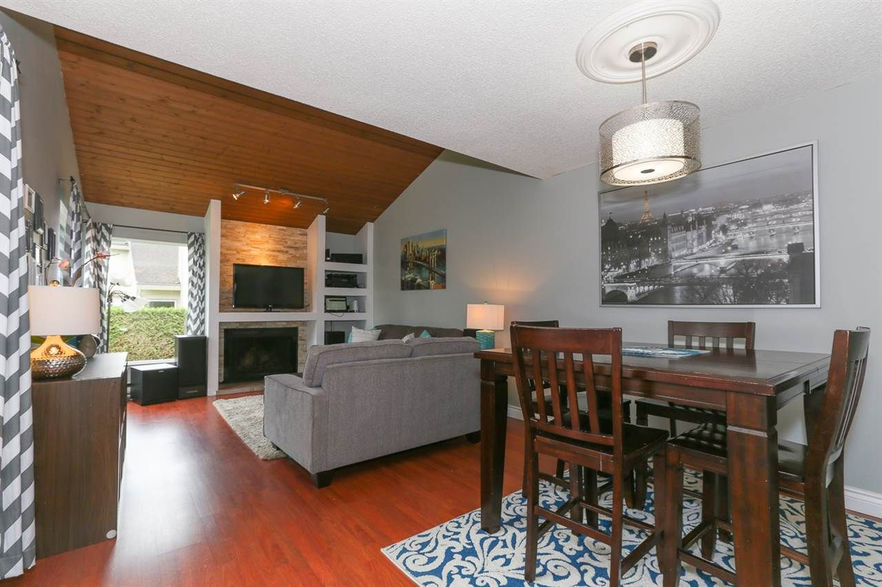 """Main Photo: 6139 E GREENSIDE Drive in Surrey: Cloverdale BC Townhouse for sale in """"GREENSIDE ESTATES"""" (Cloverdale)  : MLS®# R2056881"""