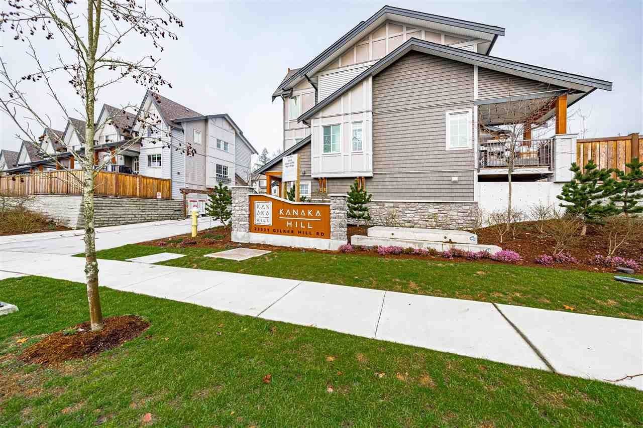 """Main Photo: 7 23539 GILKER HILL Road in Maple Ridge: Cottonwood MR Townhouse for sale in """"Kanaka Hill"""" : MLS®# R2530362"""