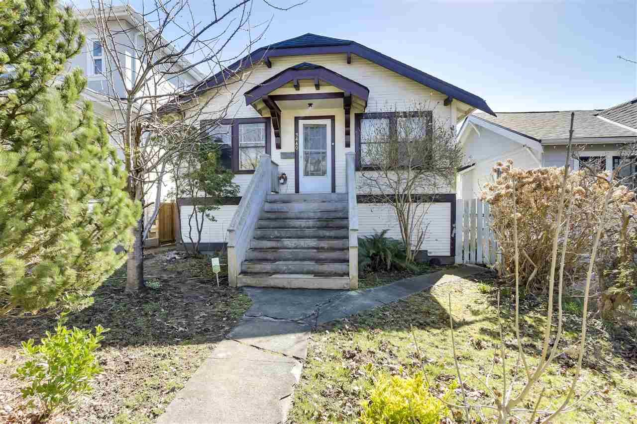Main Photo: 3440 PANDORA Street in Vancouver: Hastings Sunrise House for sale (Vancouver East)  : MLS®# R2557675