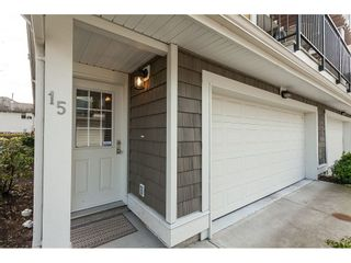 """Photo 2: 15 6036 164 Street in Surrey: Cloverdale BC Townhouse for sale in """"Arbour Village"""" (Cloverdale)  : MLS®# R2445991"""