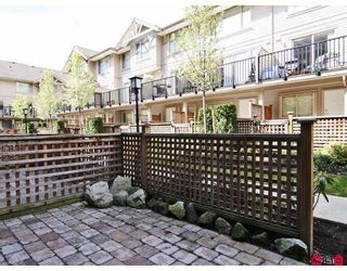"""Photo 8: 24 5388 201A Street in Langley: Langley City Townhouse for sale in """"THE COURTYARD"""" : MLS®# F2812450"""