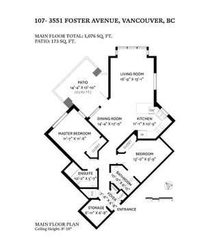 "Photo 27: 107 3551 FOSTER Avenue in Vancouver: Collingwood VE Condo for sale in ""FINALE WEST"" (Vancouver East)  : MLS®# R2499336"