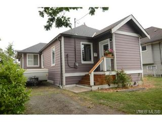 Photo 1: 554 Sumas St in VICTORIA: Vi Burnside House for sale (Victoria)  : MLS®# 703176