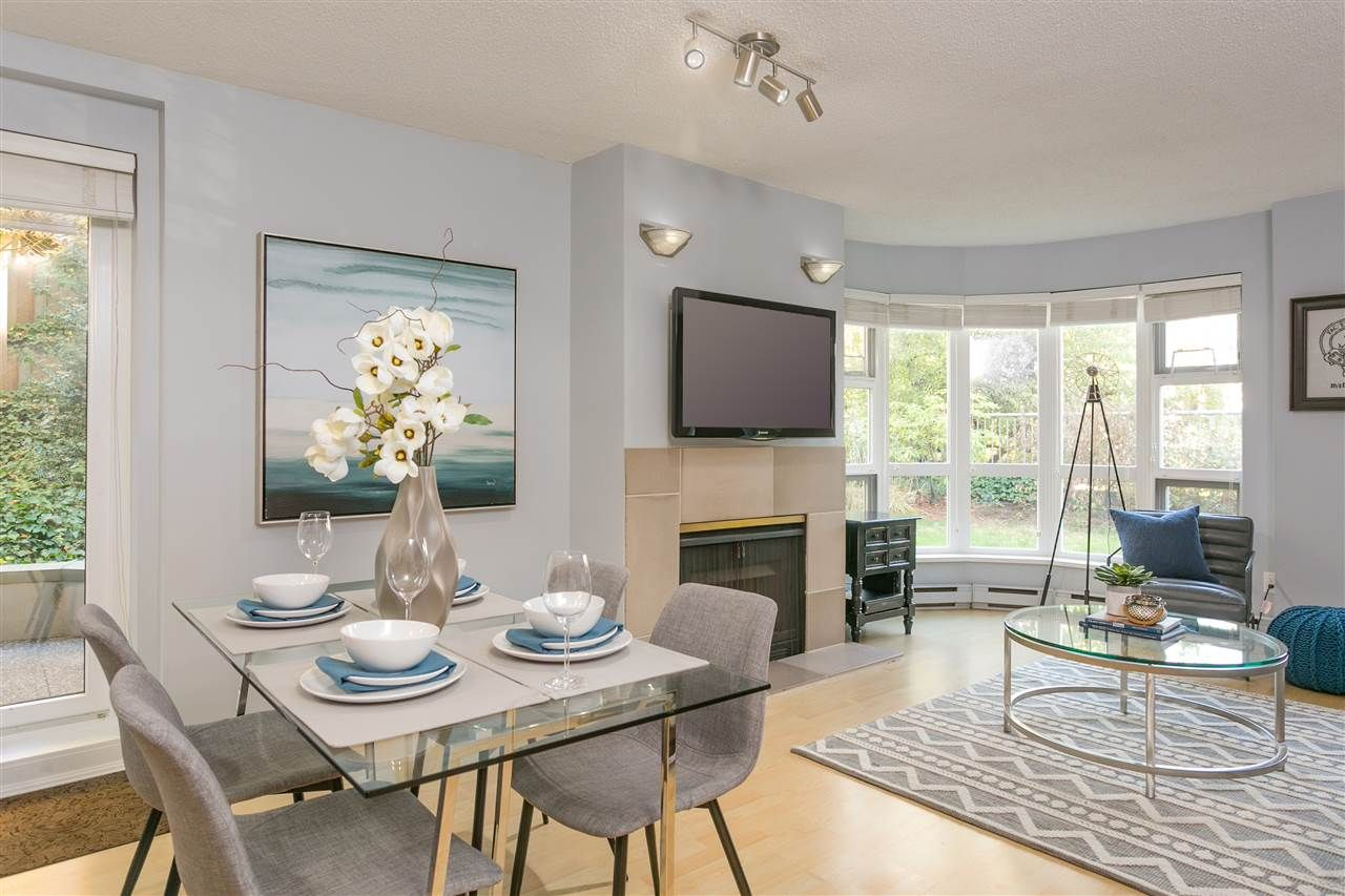"""Photo 3: Photos: 106 2428 W 1ST Avenue in Vancouver: Kitsilano Condo for sale in """"Noble House"""" (Vancouver West)  : MLS®# R2212887"""