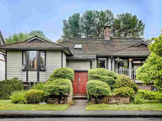 Photo 1: 470 CUMBERLAND Street in New Westminster: Fraserview NW House for sale : MLS®# R2464420