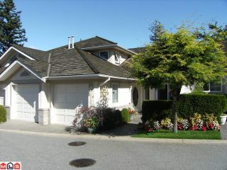 "Photo 1: 6 15099 28TH Avenue in Surrey: Elgin Chantrell Townhouse for sale in ""Gardens at Semiahmoo"" (South Surrey White Rock)  : MLS®# F1026125"