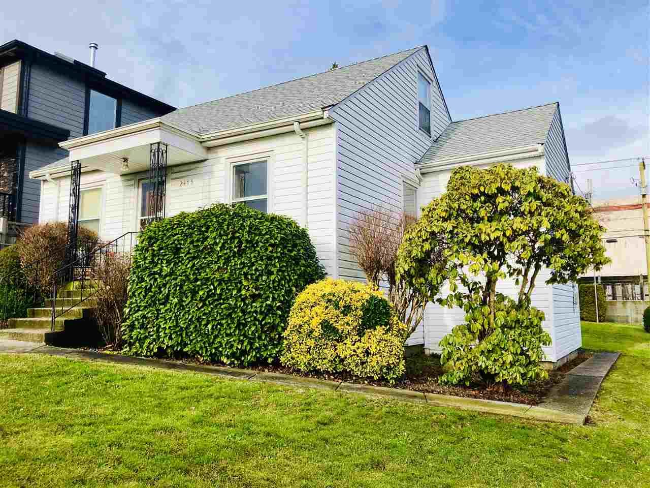 Main Photo: Vancouver East house for sale