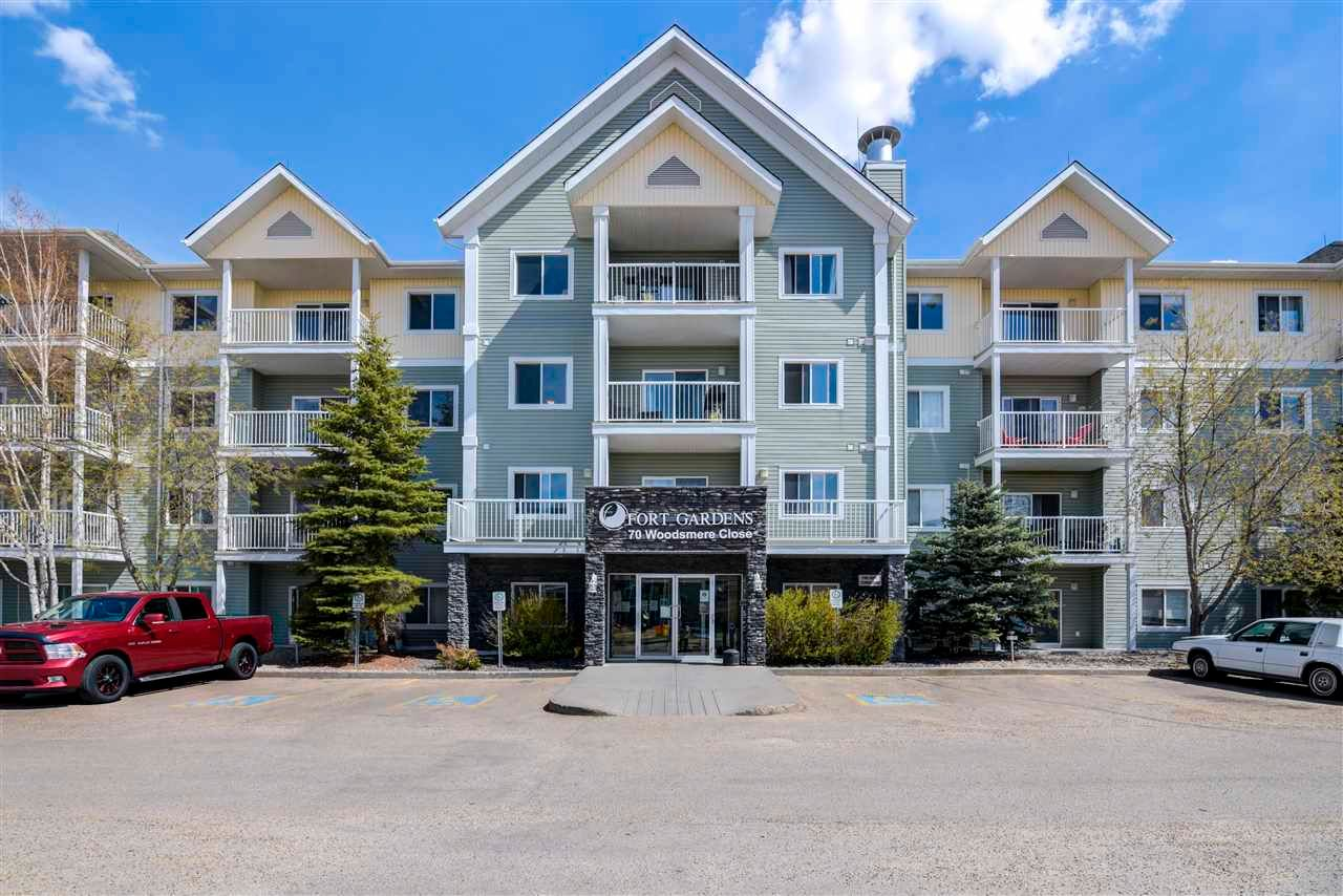 Main Photo: 111 70 WOODSMERE Close: Fort Saskatchewan Condo for sale : MLS®# E4242756