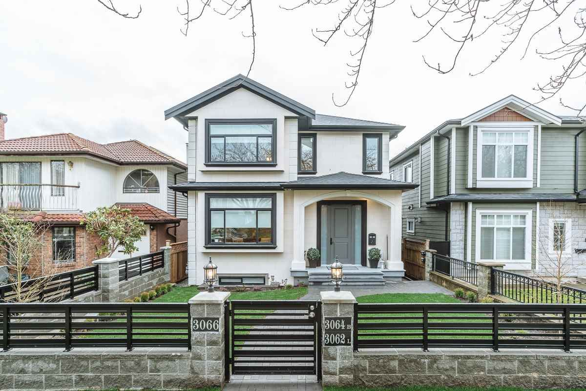 Main Photo: 3066 E 7TH AVENUE in Vancouver: Renfrew VE House for sale (Vancouver East)  : MLS®# R2237779