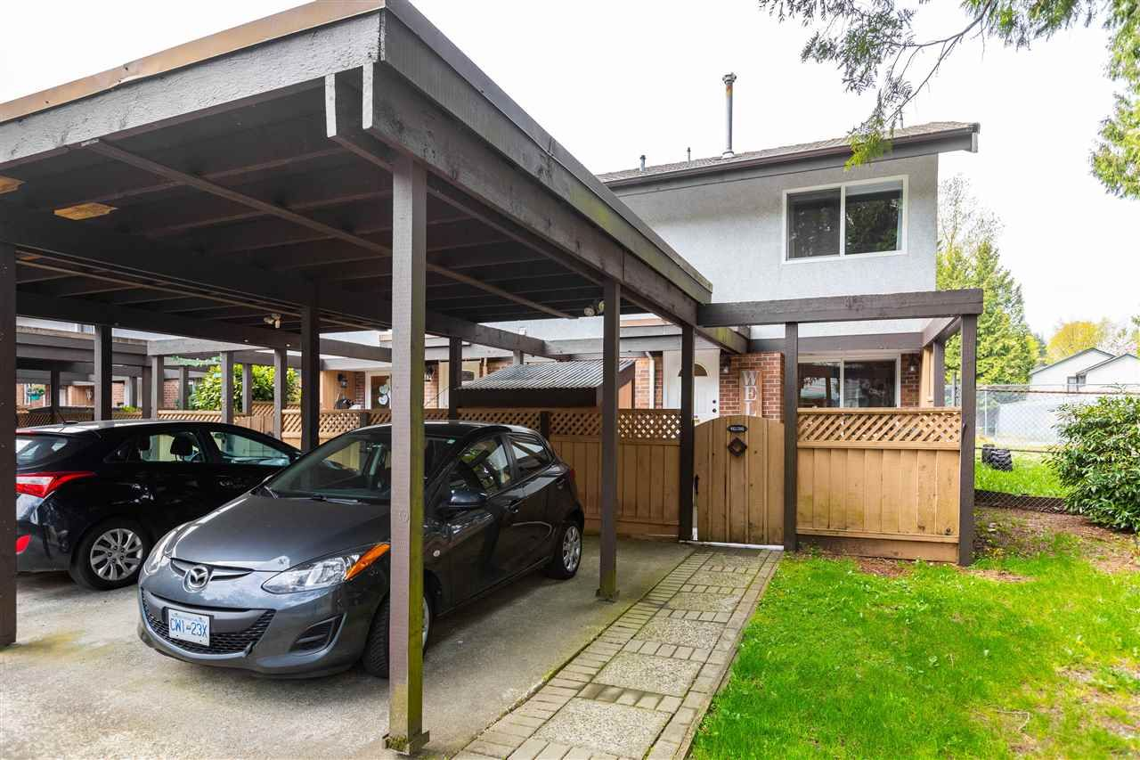 Photo 2: Photos: 21 3046 COAST MERIDIAN ROAD in Port Coquitlam: Birchland Manor Townhouse for sale : MLS®# R2452233