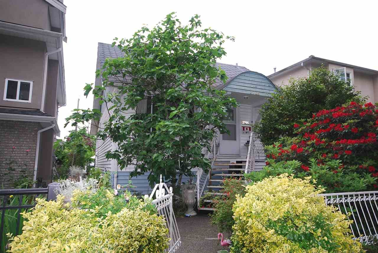 Main Photo: 2765 E 27TH Avenue in Vancouver: Renfrew Heights House for sale (Vancouver East)  : MLS®# R2073552