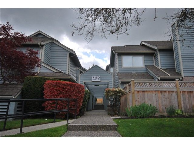 Main Photo: 23 7150 Barnet Road in Burnaby: Townhouse for sale : MLS®# V1004027