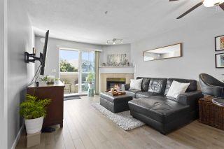 "Photo 3: 311 1669 GRANT Avenue in Port Coquitlam: Glenwood PQ Condo for sale in ""THE CHARLESTON"" : MLS®# R2488129"