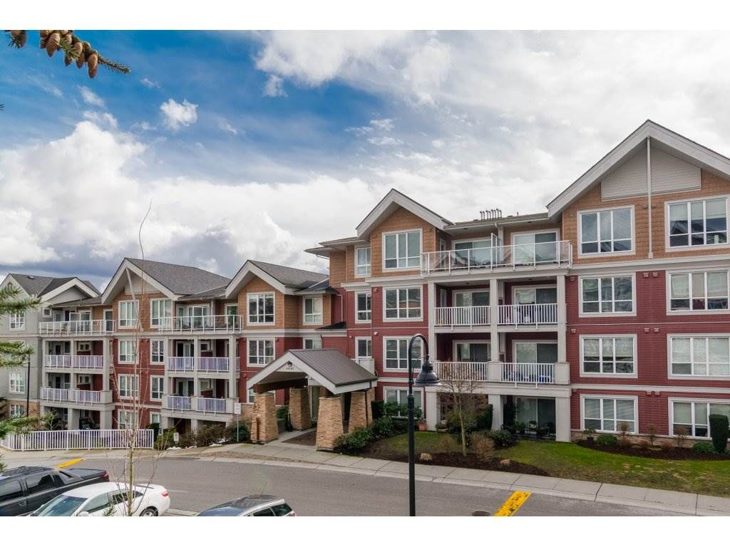 "Main Photo: 215 6440 194 Street in Surrey: Clayton Condo for sale in ""WATER STONE"" (Cloverdale)  : MLS®# R2319646"