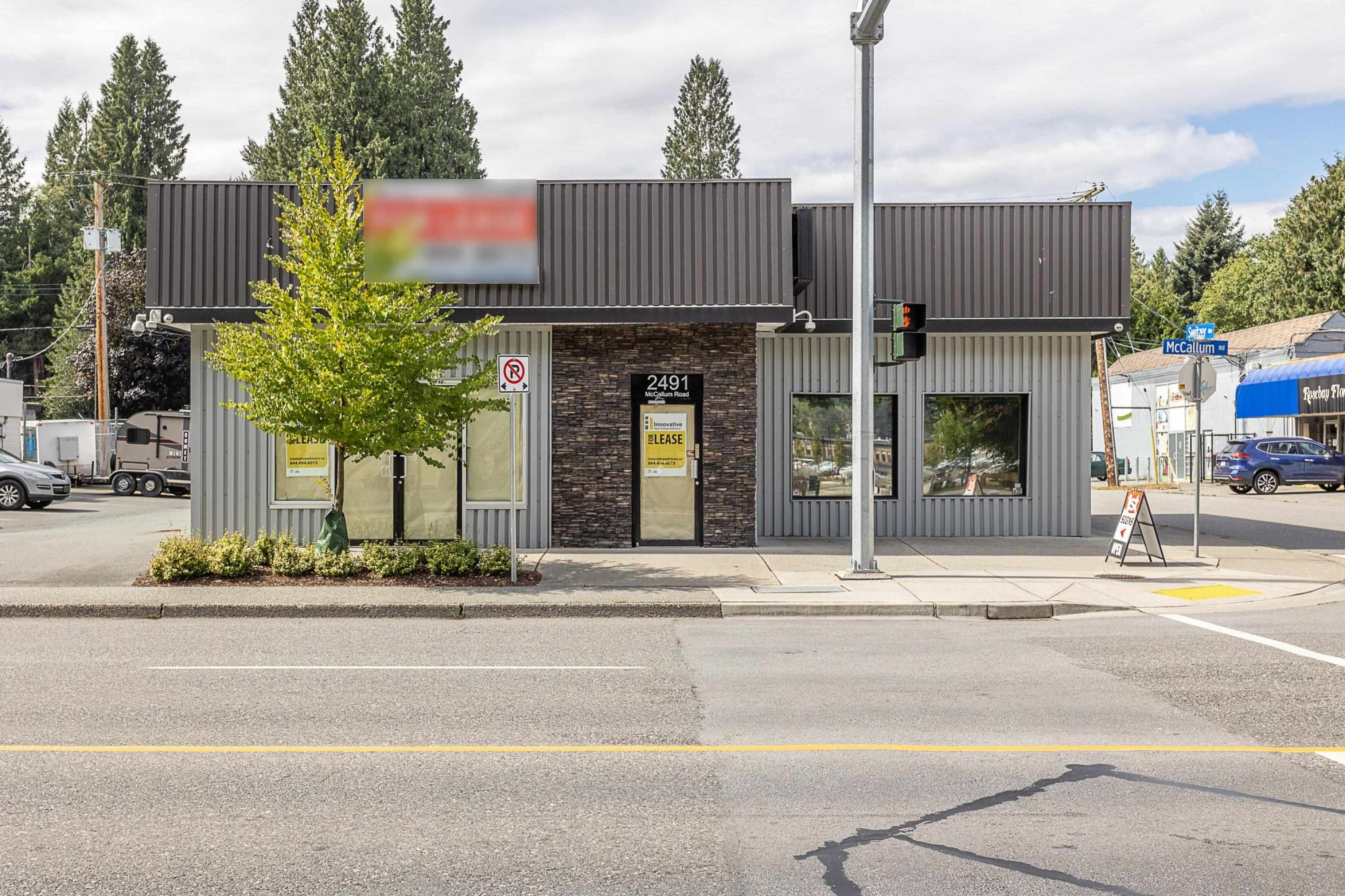 Main Photo: 2491 MCCALLUM Road in Abbotsford: Central Abbotsford Office for lease : MLS®# C8040210