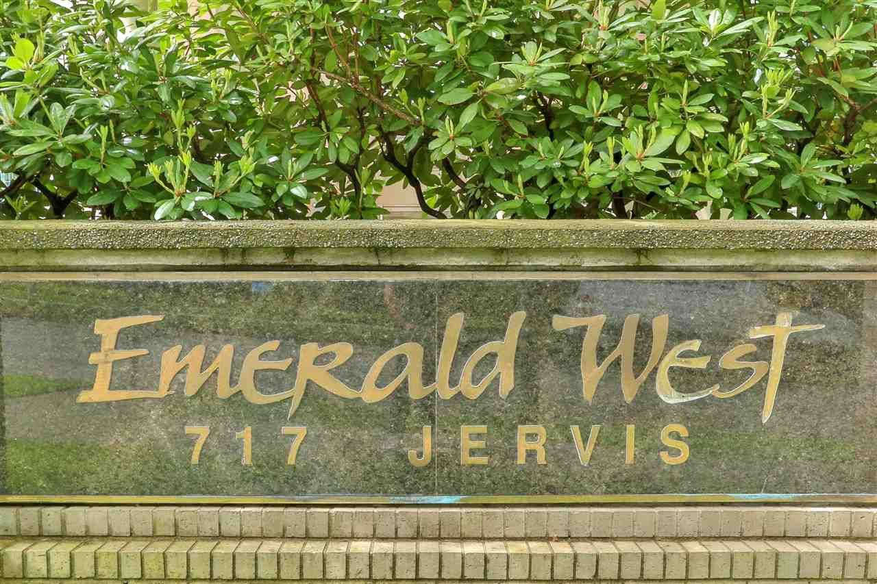 """Main Photo: 701 717 JERVIS Street in Vancouver: West End VW Condo for sale in """"EMERALD WEST"""" (Vancouver West)  : MLS®# R2580591"""