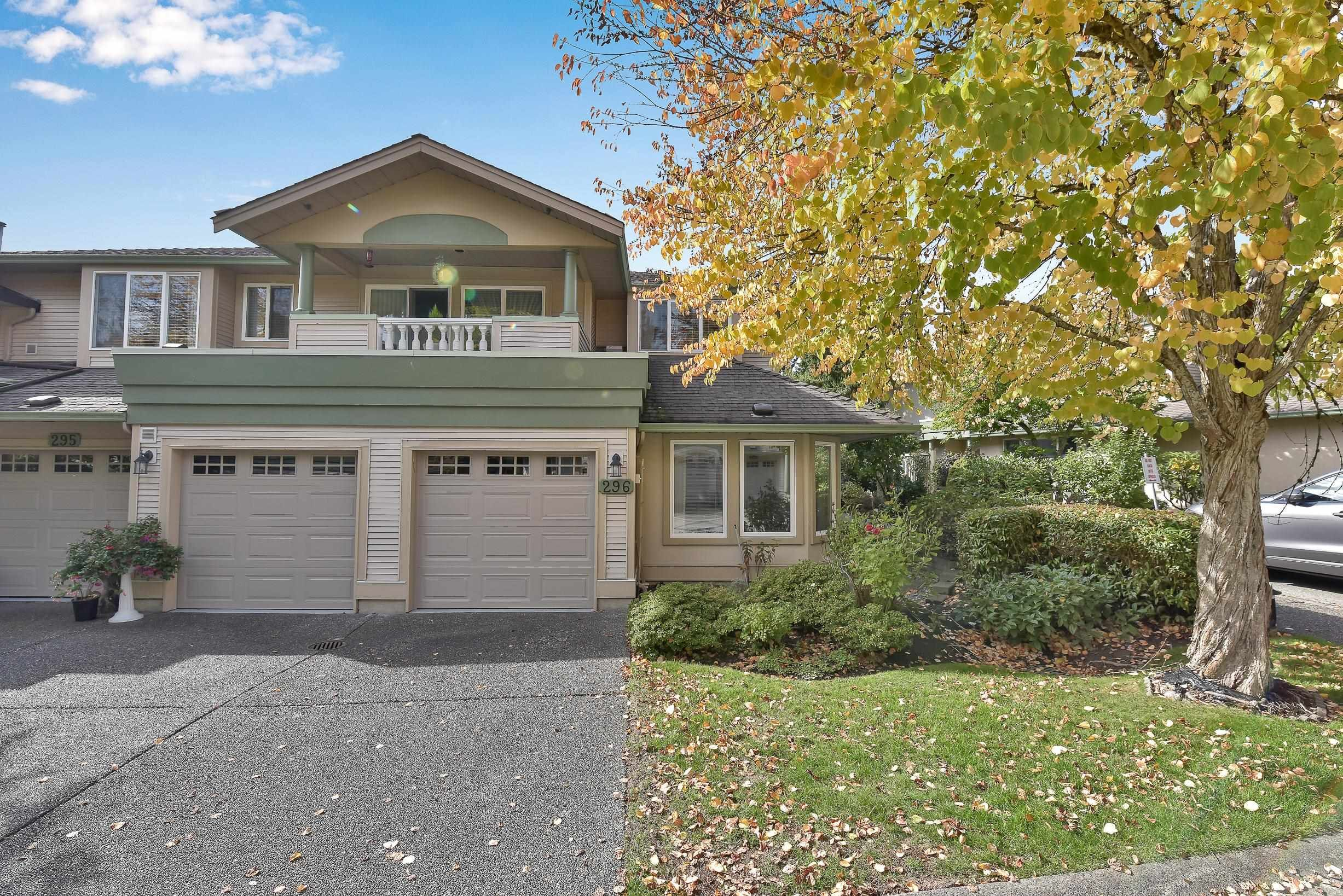 """Main Photo: 296 13888 70 Avenue in Surrey: East Newton Townhouse for sale in """"CHELSEA GARDENS"""" : MLS®# R2621747"""