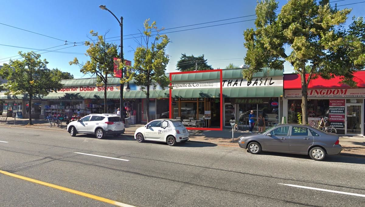 Main Photo: 3273 W BROADWAY in Vancouver: Kitsilano Business for sale (Vancouver West)  : MLS®# C8040516