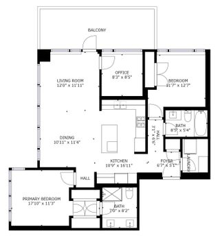 """Photo 12: 3205 4360 BERESFORD Street in Burnaby: Metrotown Condo for sale in """"MODELLO"""" (Burnaby South)  : MLS®# R2596767"""