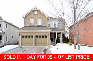 Main Photo: 37 Elder Crescent in Brooklin: Freehold for sale