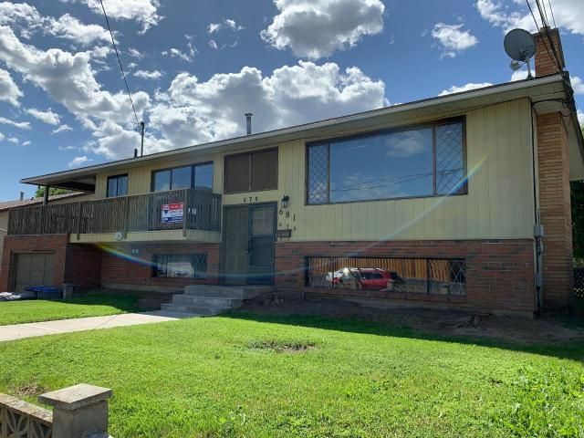 Main Photo: 679/681 YORK Avenue in Kamloops: North Kamloops Full Duplex for sale : MLS®# 151750