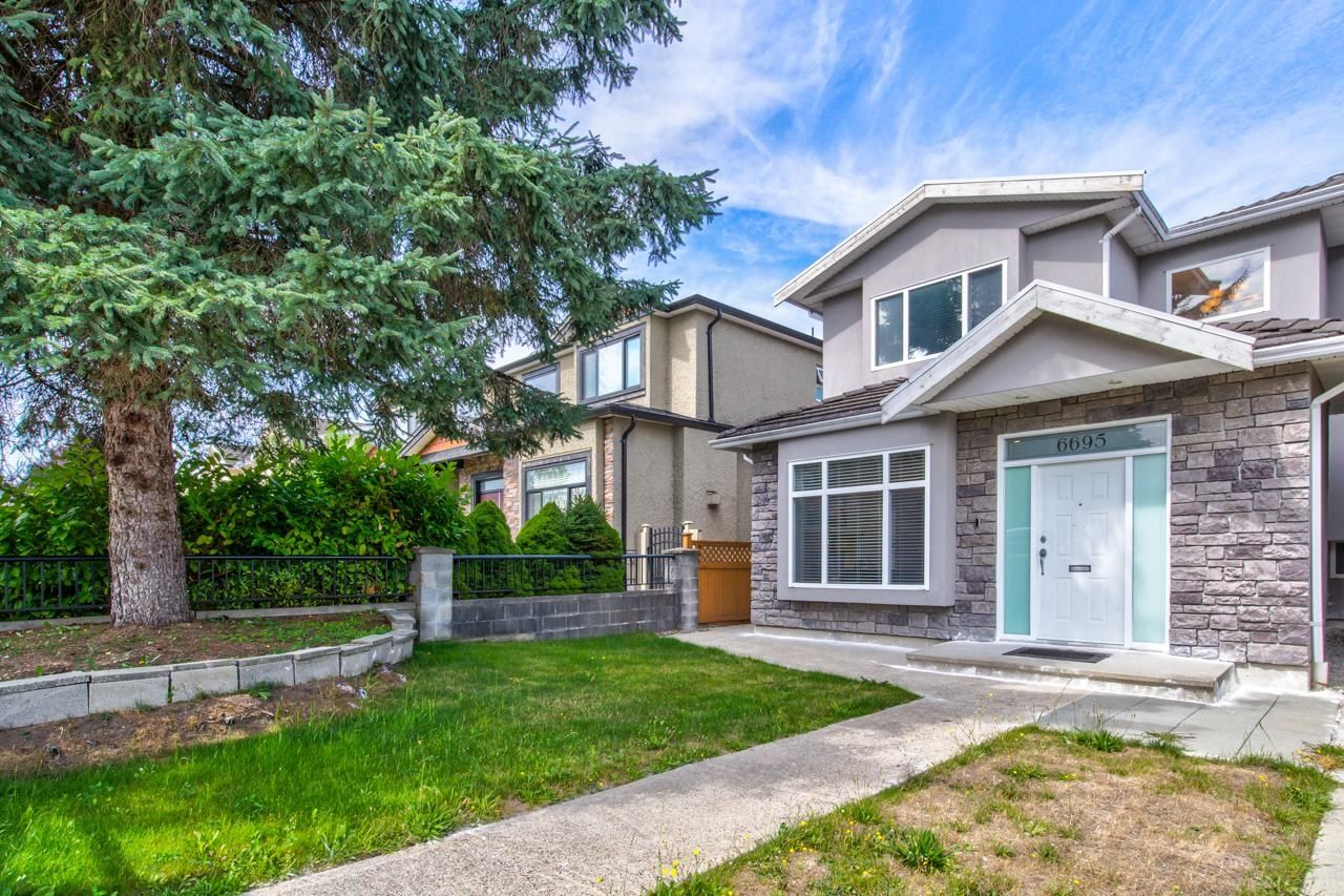 Main Photo: 6695 UNION Street in Burnaby: Sperling-Duthie 1/2 Duplex for sale (Burnaby North)  : MLS®# R2618040