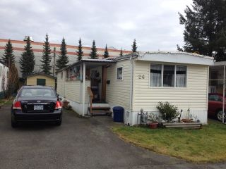 """Main Photo: 26 21163 W LOUGHEED Highway in Maple Ridge: Southwest Maple Ridge Manufactured Home for sale in """"VAL MARIE MOBILE HOME PARK"""" : MLS®# V1045935"""