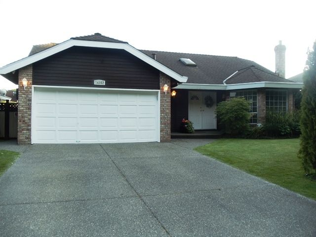 Main Photo: 14352 20th Ave in South Surrey: Home for sale : MLS®# f1219932