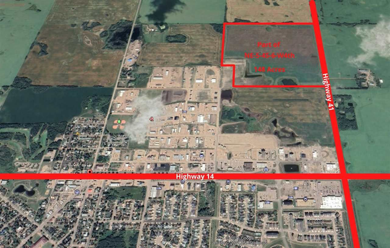 Main Photo: 23 Street & 23 Ave bordering HWY 41: Rural Wainwright M.D. Rural Land/Vacant Lot for sale : MLS®# E4242260