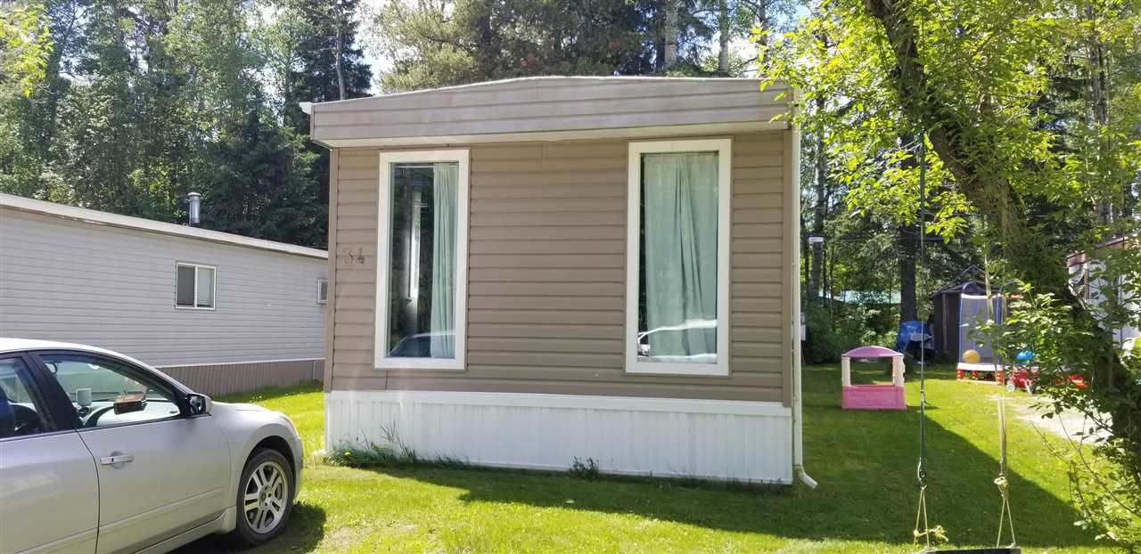 """Main Photo: 34 8474 BUNCE Road in Prince George: Haldi Manufactured Home for sale in """"HALDI"""" (PG City South (Zone 74))  : MLS®# R2589804"""