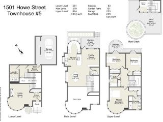 Photo 2: T5 1501 Howe Street in Vancovuer: Yaletown Townhouse for sale (Vancouver West)  : MLS®# V1087421
