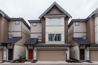 "Photo 1: 9 6971 122 Street in Surrey: West Newton Townhouse for sale in ""AURA"" : MLS®# R2328893"