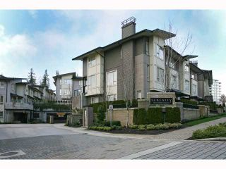 """Photo 1: 66 9229 UNIVERSITY Crescent in Burnaby: Simon Fraser Univer. Townhouse for sale in """"SERENITY"""" (Burnaby North)  : MLS®# V815319"""