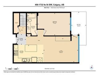 Photo 5: 408 1732 9A Street SW in Calgary: Lower Mount Royal Apartment for sale : MLS®# A1151772