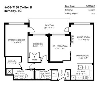 """Photo 20: 608 7138 COLLIER Street in Burnaby: Highgate Condo for sale in """"Standford House"""" (Burnaby South)  : MLS®# R2252953"""