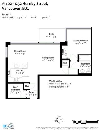 """Photo 36: 1402 1252 HORNBY Street in Vancouver: Downtown VW Condo for sale in """"PURE"""" (Vancouver West)  : MLS®# R2579899"""