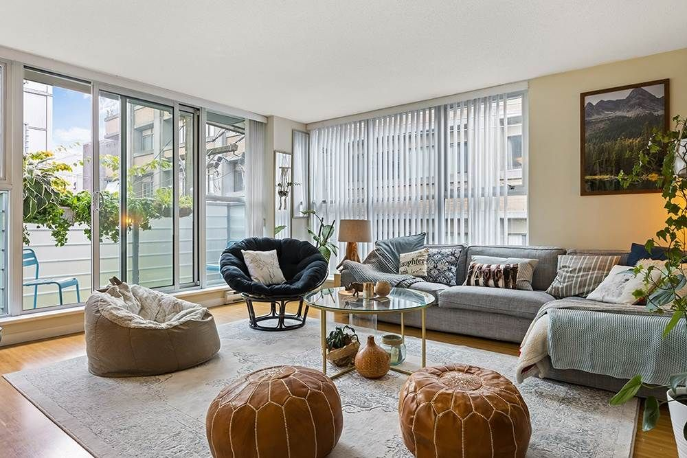 """Main Photo: 501 168 POWELL Street in Vancouver: Downtown VE Condo for sale in """"Smart by Concord Pacific"""" (Vancouver East)  : MLS®# R2591378"""
