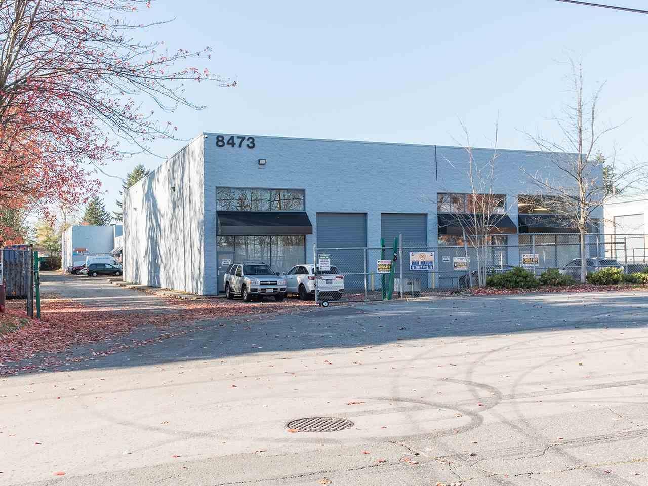 Main Photo: 12 8473 124 STREET in Surrey: Queen Mary Park Surrey Industrial for sale : MLS®# C8035157