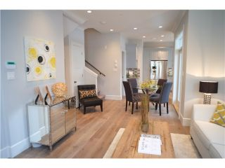 Photo 4: 334 W 14TH Avenue in Vancouver: Mount Pleasant VW Townhouse for sale (Vancouver West)  : MLS®# V1066314