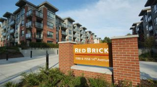 """Photo 1: 119 7058 14TH Avenue in Burnaby: Edmonds BE Condo for sale in """"REDBRICK"""" (Burnaby East)  : MLS®# R2294728"""
