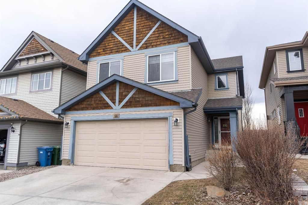Main Photo: 66 Evansbrooke Terrace NW in Calgary: Evanston Detached for sale : MLS®# A1085797