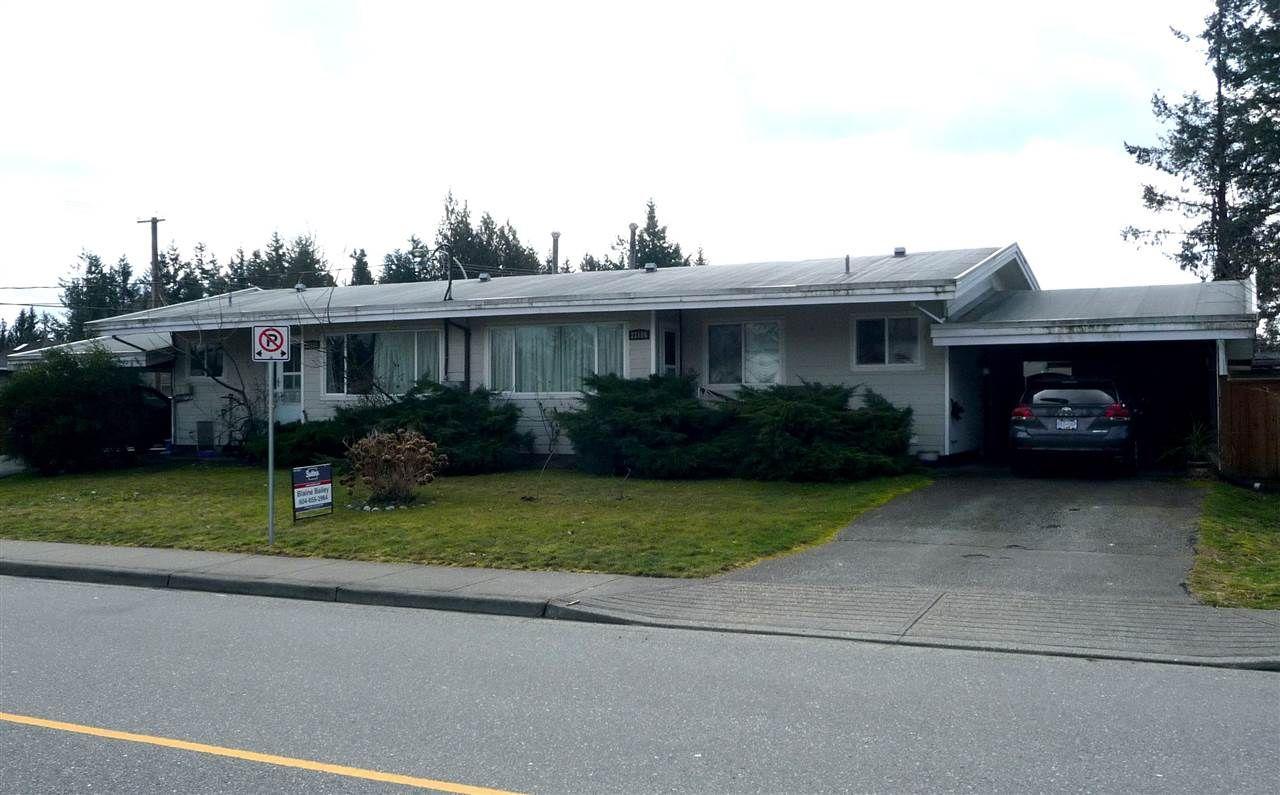 Main Photo: 33186 BRUNDIGE Avenue in Abbotsford: Central Abbotsford Duplex for sale : MLS®# R2244270
