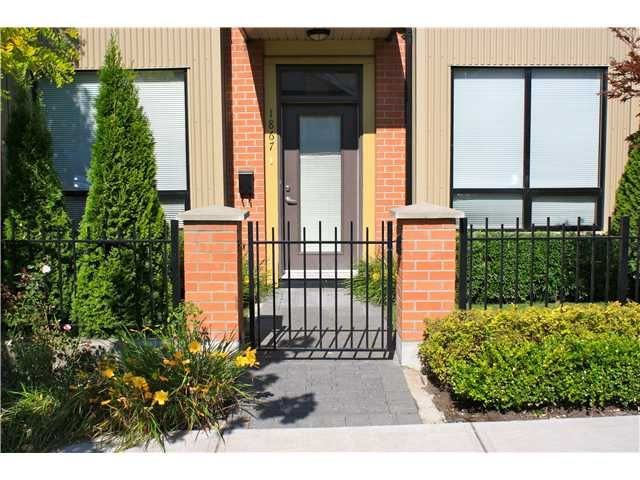 """Main Photo: 1867 STAINSBURY Avenue in Vancouver: Victoria VE Townhouse for sale in """"The Works"""" (Vancouver East)  : MLS®# V909355"""