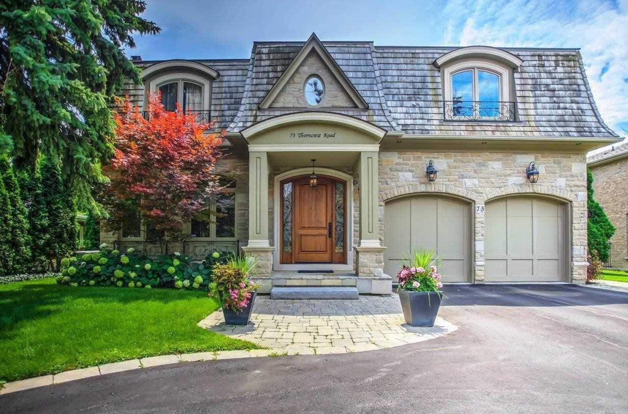 Main Photo: 73 Thorncrest Road in Toronto: Princess-Rosethorn House (2-Storey) for sale (Toronto W08)  : MLS®# W4400865
