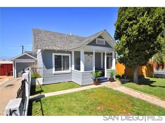 Main Photo: UNIVERSITY HEIGHTS House for rent : 2 bedrooms : 4390 Hamilton St in San Diego