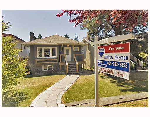 Main Photo: 2242 W 49TH Avenue in Vancouver: S.W. Marine House for sale (Vancouver West)  : MLS®# V747235